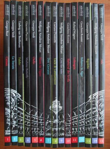 Colectia completa Mari Spectacole de Opera (15 volume)