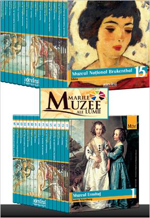 Colectia completa Marile Muzee ale Lumii