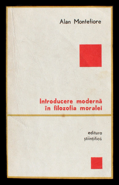 Introducere moderna in filozofia moralei