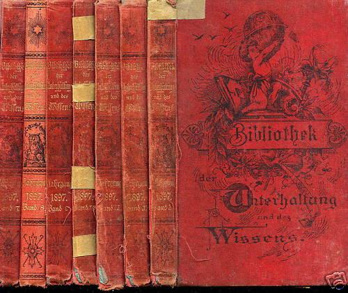 bibliothek der unterhaltung und des wissens band 5 1885. Black Bedroom Furniture Sets. Home Design Ideas