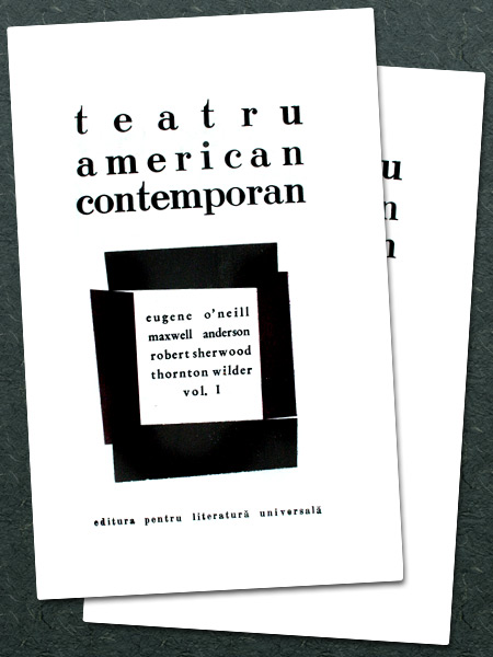Teatru american contemporan (2 vol.)