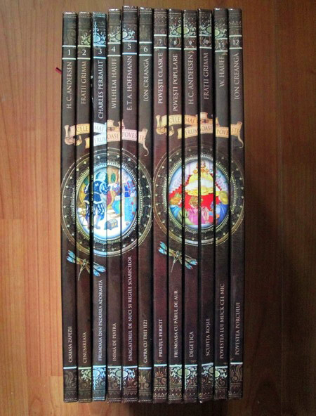 Colectia completa Cele mai frumoase povesti (12 volume + CD)