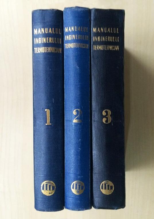 Manualul inginerului termotehnician (3 vol.)