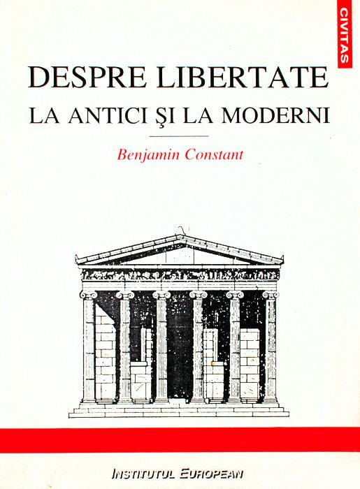 Despre libertate la antici si la moderni
