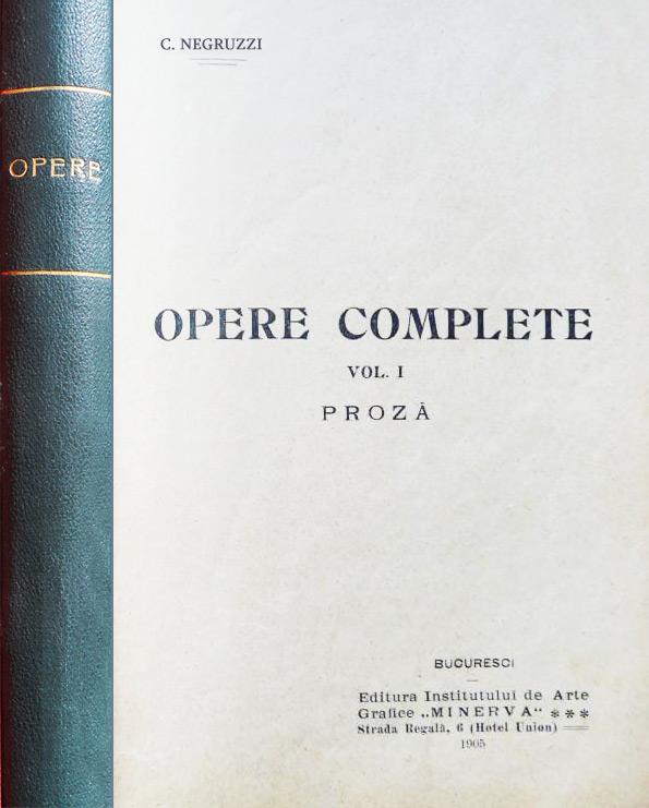 Opere complete (editia princeps, 1905)