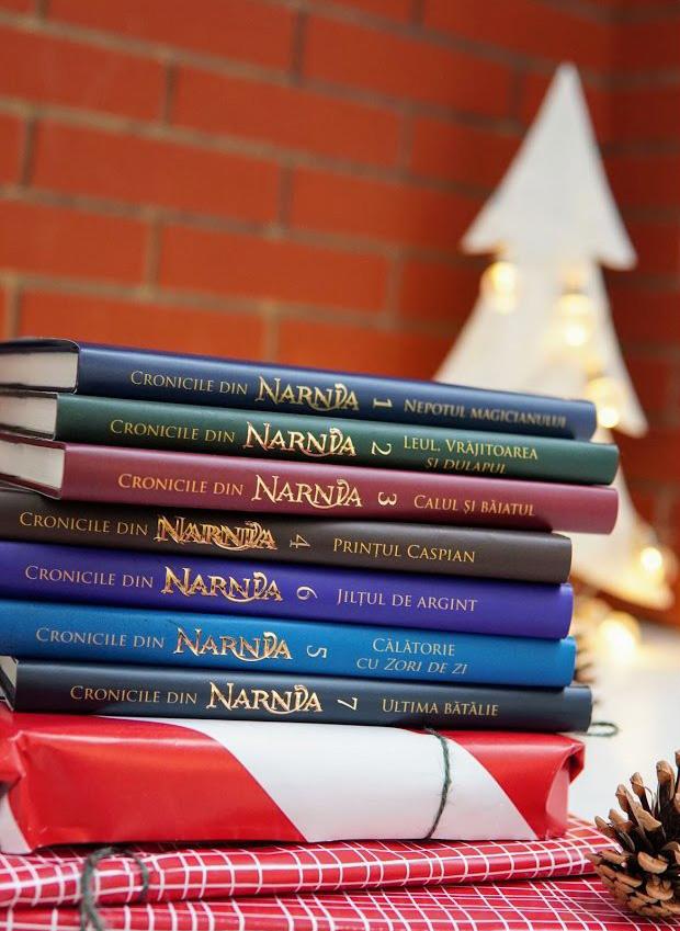 Colecția completă Cronicile din Narnia (7 volume)