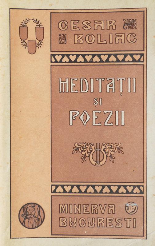 Meditatii si poezii (editia princeps, 1915)
