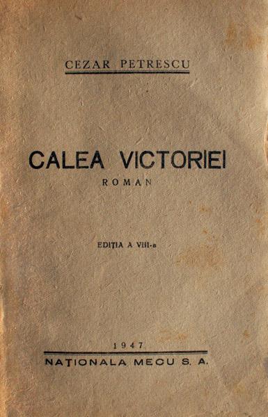 Calea Victoriei (editia princeps, 1930)