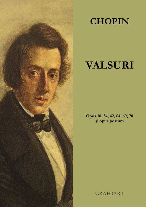 Valsuri pentru pian (partituri)