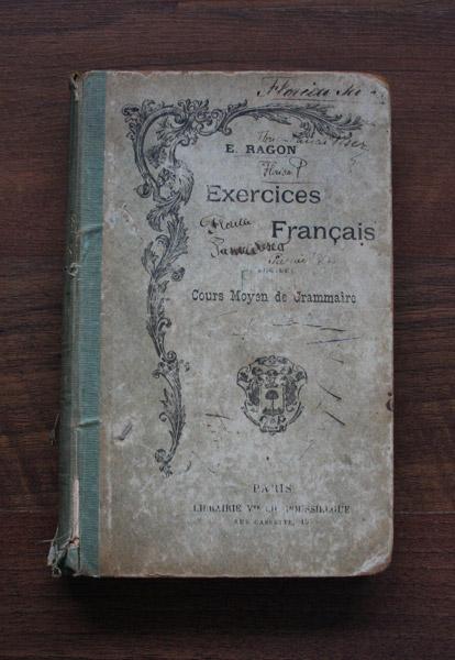 Exercices Francais. Cours Moyen de Grammaire (1906)