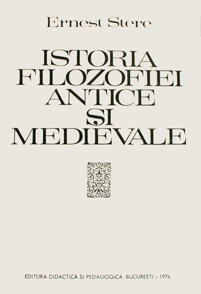 Istoria filozofiei antice si medievale