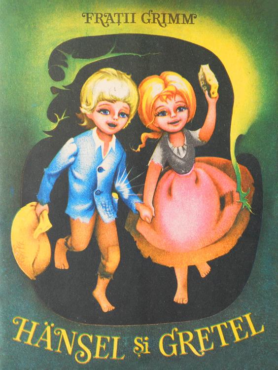 Hansel si Gretel (ilustratii de Adriana Mihailescu)