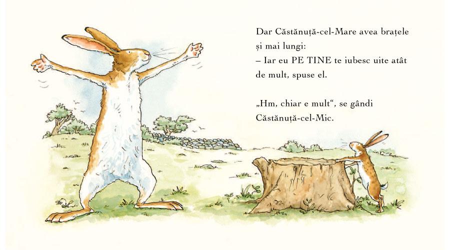 Ilustraţii carte pentru copii 'Ghici cât de mult te iubesc?'