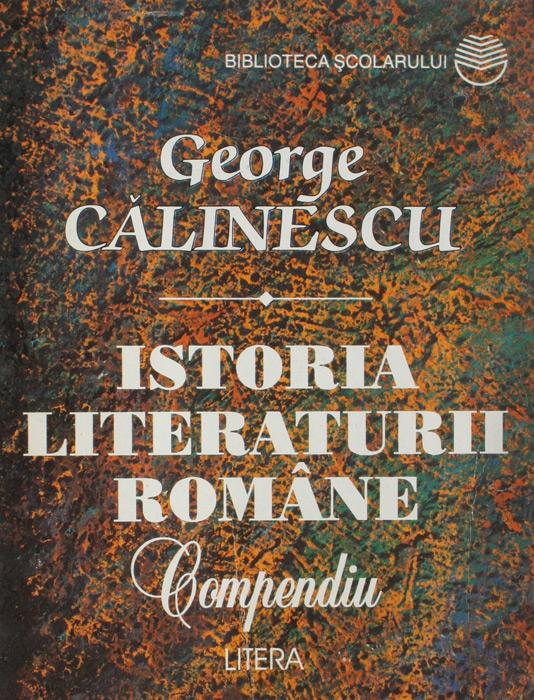 Istoria literaturii romane (compendiu)