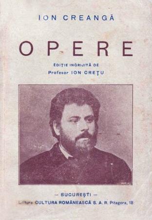 Opere (editia Ion Cretu, 1939)