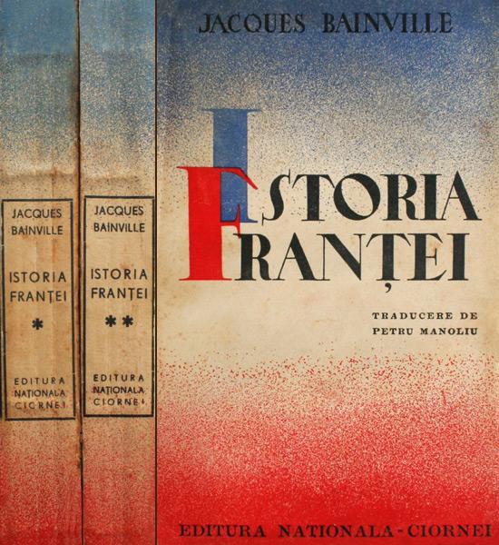 Istoria Frantei (2 vol.), editia princeps