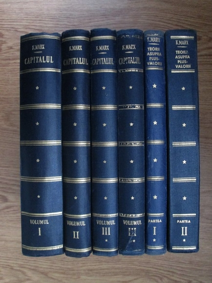 Capitalul (6 volume, set complet)