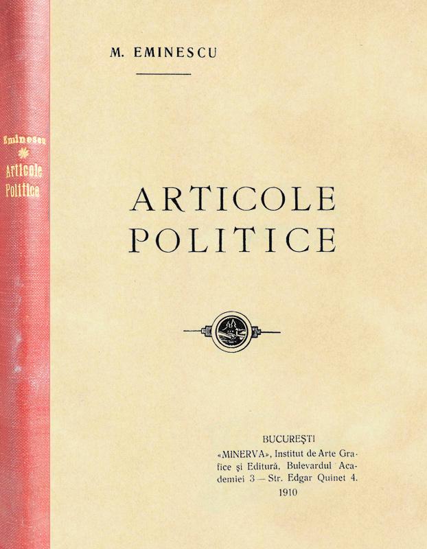 Articole politice (editia princeps, 1910)