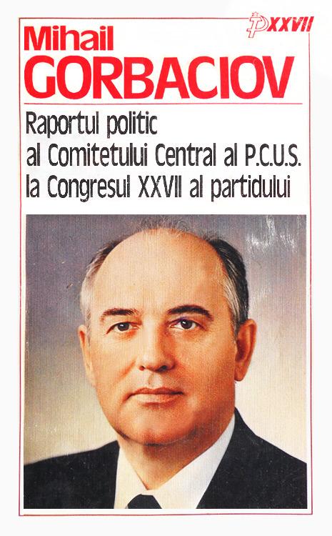Raportul politic al Comitetului Central al PCUS la Congresul XXVII al partidului