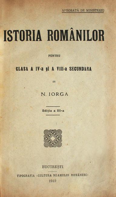 Istoria romanilor (1910)