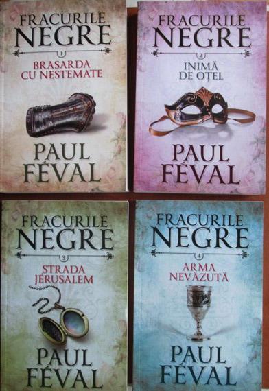 Colectia completa Fracurile Negre (8 volume)