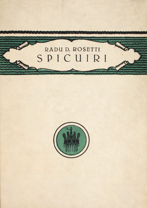 Spicuiri (editia princeps, 1923)