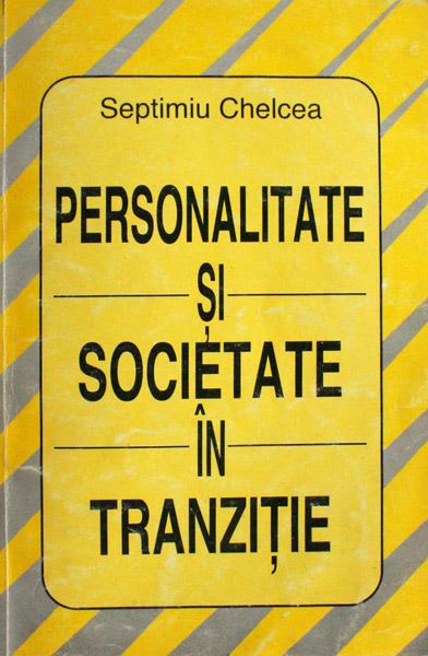 Personalitate si societate in tranzitie