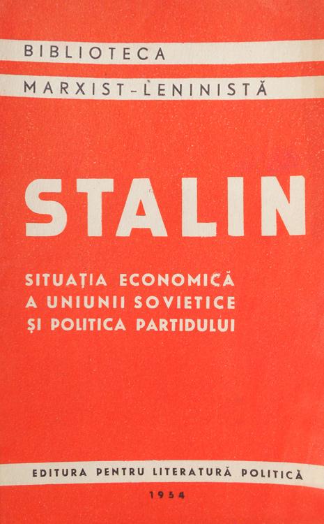 Situatia economica a Uniunii Sovietice si politica partidului