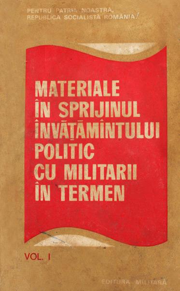 Materiale in sprijinul invatamantului politic cu militarii in termen