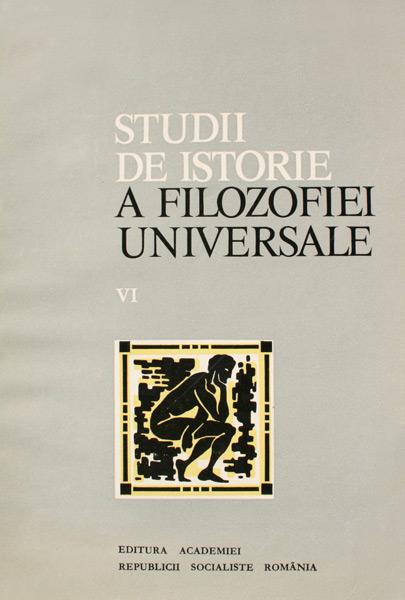 Studii de istorie a filozofiei universale