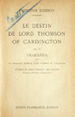Le destin de Lord Thomson of Cardington (editia princeps, 1932)