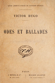 Odes et Ballades (edition definitive, 1880)